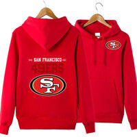 San Francisco 49ers NFL Hoodie Unisex Sweater Pullover Fan Edition Hooded Coat