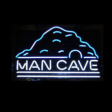 """New Man Cave Beer Bar Neon Sign 17""""x14"""""""