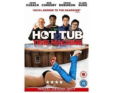 Hot Tub Time Machine DVD John Cusack Chevy Chase Steve UK Release New Sealed R2
