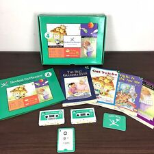 Hooked on Phonics Learn to Read Level 4 Homeschool Cassettes Books Flashcards