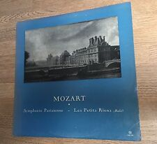 LP Mozart Symphonie Parisienne Les Petits riens Fernand Oubradous CND 539 *