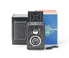 USSR TLR Lomo Lubitel 2 lens T-22 Lomo 4.5/75mm Boxed No.032015