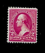 US  1894 Sc# 252  2 cent  WASHINGTON  Mint NH - Vivid Color - Centered - GEM