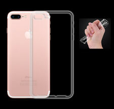iPhone 7 Plus TPU Silikon Case Ultra dünn Schutz Hülle Cover Bumper Tasche Etui