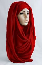 HIJAB BIG LARGE MAXI PLAIN 100% VISCOSE SHAWL SCARF SARONG BEST QUALITY HIJAB
