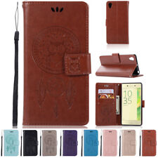 For Sony Xperia X Performance PU Leather Wallet Card Flip Case Stand Cover