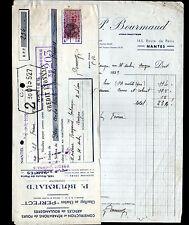 """NANTES (44) USINE de FOURS pour BOULANGERIE """"P. BOURMAUD"""" en 1939"""