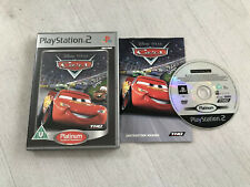 Disney Pixar Cars Playstation 2 Ps2 Game PAL Complete W/Manual