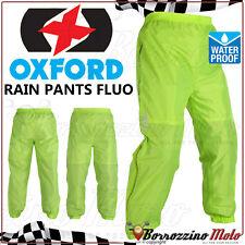 Oxford Fluo Pantalone Pantaloni Impermeabile Anti-pioggia Moto Scooter XXXL