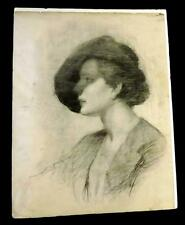 4 Beautiful, Very Large, and very  old ( ca 1980s)  Pencil Drawings