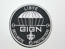 écusson obsolète gendarmerie Libye protection sécurité GIGN n est plus en servic