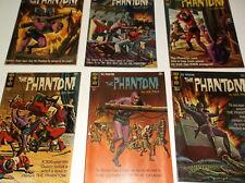 Gold Key The Phanton# 7 to 17 Fine+