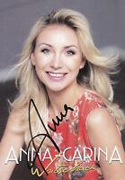 Anna-Carina WOITSCHACK - dt. Sängerin, 8. Platz DSDS 2011, Original-Autogramm!