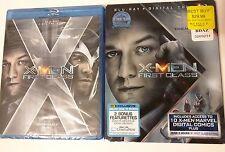 X-Men: First Class (Blu-ray Disc, 2011,Digital Copy) Brand New! + Slip Cover!