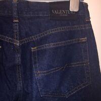 Valentino Designer Classic 5 Pockets Blue Jeans Size 32