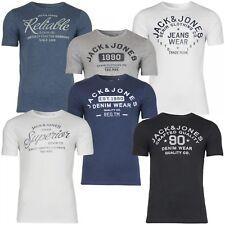 Jack&Jones Herren T-Shirt Jjejeans Print Tee Rundhals Sport Clubwear UVP 12,99€