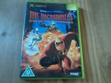 The Incredibles Rise of the Underminer Case for XBox - Empty Box and manual Only