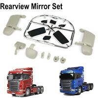 LESU ABS Rear View Mirror Kit for 1/14 Tamiya Scania R620 R470 RC Tractor Truck