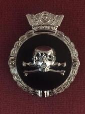 Haute Qualité Crâne & Traverser Os Voiture Grill Badge B7.002