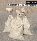 SAND BAGS Qty: 500 Beige - Sandbags For Flooding - Wholesale Bulk by Sandbaggy