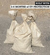 SAND BAGS (Qty: 500) Beige - Sandbags For Flooding - Wholesale Bulk by Sandbaggy