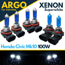 Honda Civic MKX Phare Ampoules FC 2016-On Brouillard Clignotant LED Blanc Xenon