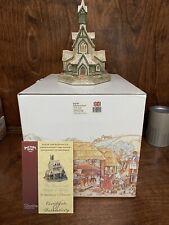 Rare David Winter - St. Barbara's Church - Only 400 Made! Mint + Box & Coa