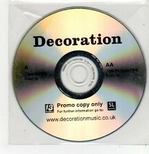 (FF521) Decoration, Candidate / Job In London - DJ CD
