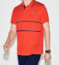 LACOSTE POLO SHIRT BNWT - SMALL T3 - RED - SPORT ULTRA DRY - DH8146 - RRP £79
