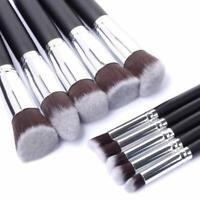 10Pcs Make Up Brushes Face Powder Blusher Foundation Eyeshadow Makeup Brush