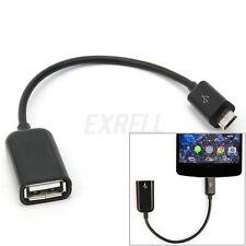 Cable Micro USB OTG Adaptador para Movil Smartphone Adaptador Host Pendrive