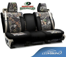 NEW Mossy Oak Break-Up Camo Camouflage Seat Covers with Black Sides / 5102001-12