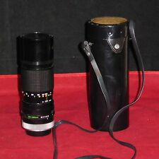 Canon 100-200mm 1:5.6 S.C. Zoom Lens FD From Japan #139647