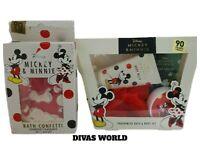 Disney Mickey And Minnie Fragranced Bath And Body Set  Body Wash Lotion Fizzer