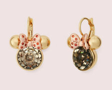 Kate Spade x Disney for minnie mouse stone leverbacks Earrings ~NWT~