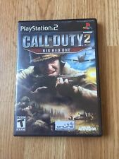 Call Of Duty 2 Big Red One PS2 Sony PlayStation 2 Cib Game XP1