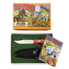 Red Ryder 75th Anniversary Boys first Hunting knife with Safety handbook