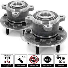 2x 2011-2014 Chevrolet Volt Rear Wheel Hub Bearing Assembly Stud w/ ABS