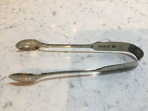 Victorian Silver Plate Sugar Snips. W S Savage 1863-1869 Sheffield