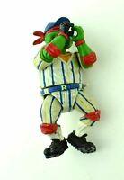 TMNT Teenage Mutant Ninja Turtles Action Figure Raphael Raph Baseball Player