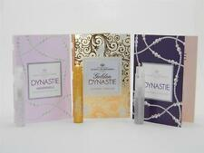Marina de Bourbon Dynastie Collection EDP Vial Sample 0.05oz 1.5ml (Lot of 3)
