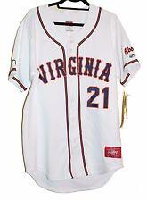 Super RARE Rawlings VIRGINIA HOOS Baseball Jersey Size 40 Large Pro-Dri-NEW 21