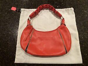 Radley Red Hand Bag - Medium Size