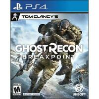 Tom Clancy's Ghost Recon Breakpoint (PLAYSTATION 4, 2019) PS4 NEW
