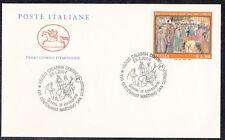 Italia 2004 17 centenario martirio di San Giorgio timbro 1 FDC Mnh
