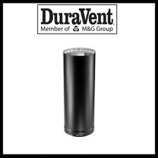 "DURAVENT DVL DOUBLE WALL- 6"" Wood Stove Pipe- 12"" Pipe Length #6DVL-12"