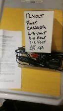 12 Volt Fast Charger 4.8/6.0/7.2 Volt