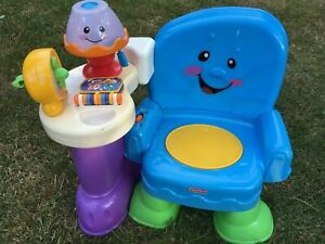 CHAISE SONORE , MUSICALE ET LUMINEUSE FISHER PRICE