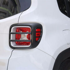 4pcs Metal Tail Light Lamp Covers Trim Frame For Jeep Renegade 2015 2016 2017 #s
