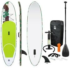 Stand up Paddle Sup Gonflable + pagaie + Sac à Dos + Pompe Haute Pression